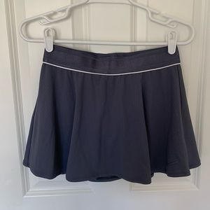 New Purple Nike Flouncy Tennis Skirt